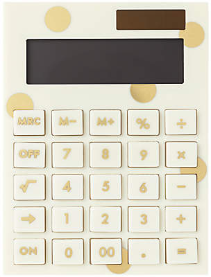 kate spade new york Gold Dot Calculator
