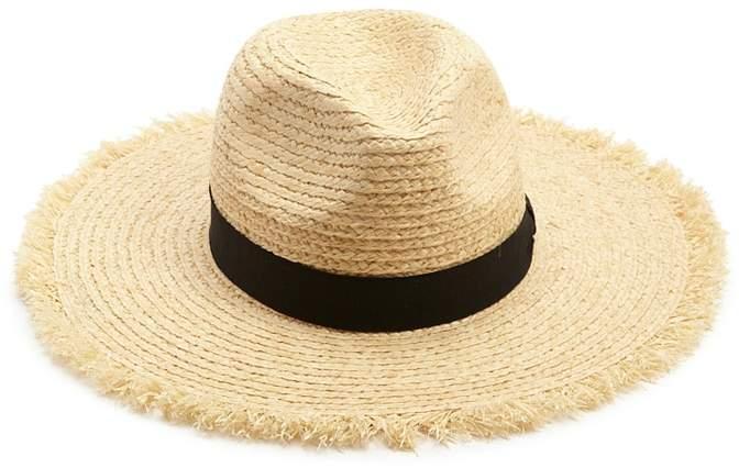 Forever 21 Fringe-Trim Panama Straw Hat