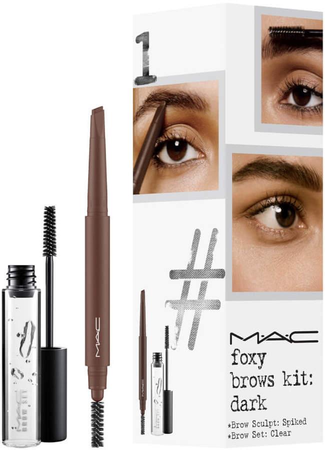 Mac MAC Foxy Brows Exclusive Kit - Dark (Worth 33.00)