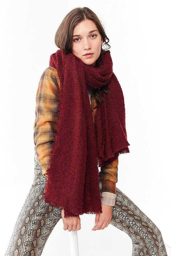 Urban Outfitters Nubby Blanket Scarf