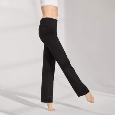 The White Company Straight Leg Roll Top Trousers