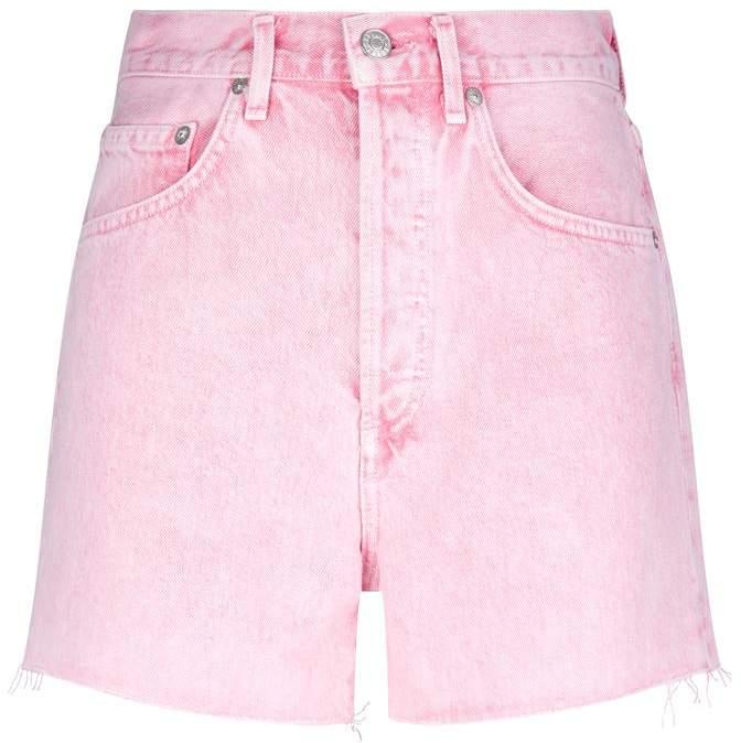 Agolde Dee Ultra High-Rise Denim Shorts