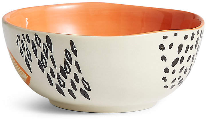 Marks and Spencer Hand Painted Abstract Dots Nibble Bowl