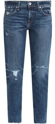 Rag & Bone Dre Distressed Boyfriend Jeans