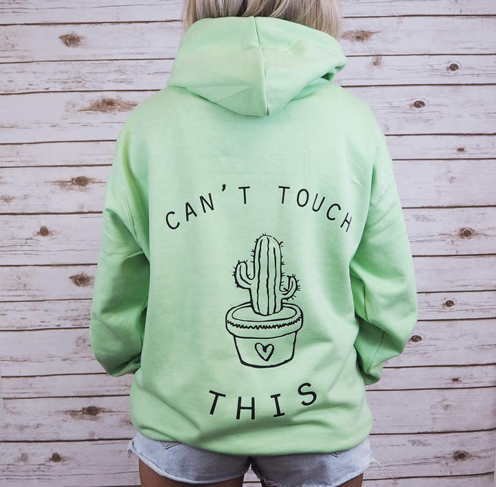 Rock On Ruby 'Can't Touch This Cactus' Hoodie