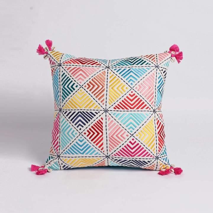 Plum Chutney Boho Cushion