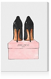 Oliver Gal Night Out Stilettos Wall Art, 20 x 30