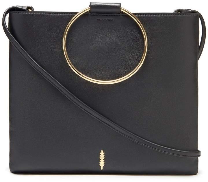 Thacker Le Pouch Slim Ring Handle Cross-Body Bag