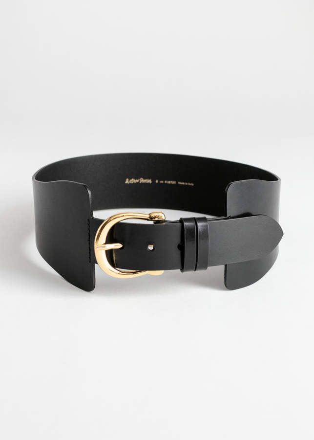 And other stories Wide Waist Belt