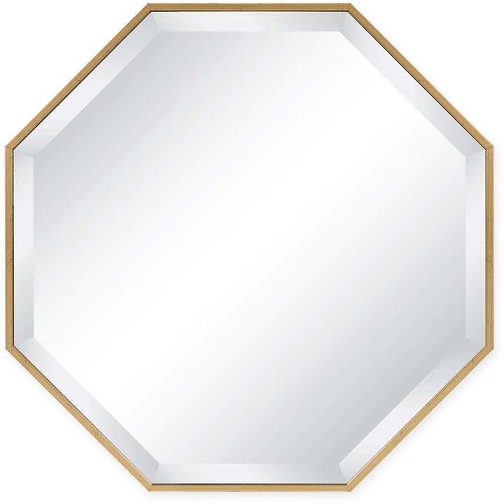 Kate And Laurel Kate and Laurel Rhodes Octagon 25-Inch Wall Mirror