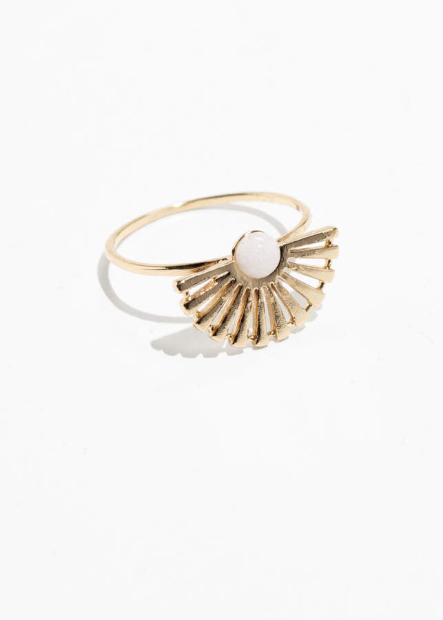 And other stories Sun Fan Ring