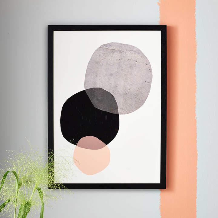 EAST END PRINTS Big Circles Minimalist Print