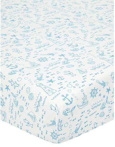 George Home Nautical Fitted Sheet - Toddler