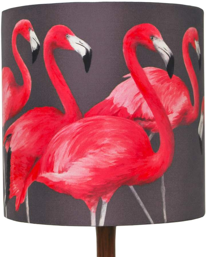Katie & the Wolf - Flock of Flamingos Lampshade Small