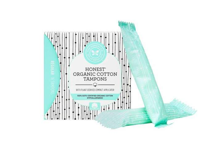 The Honest Company Organic Cotton Applicator Tampons