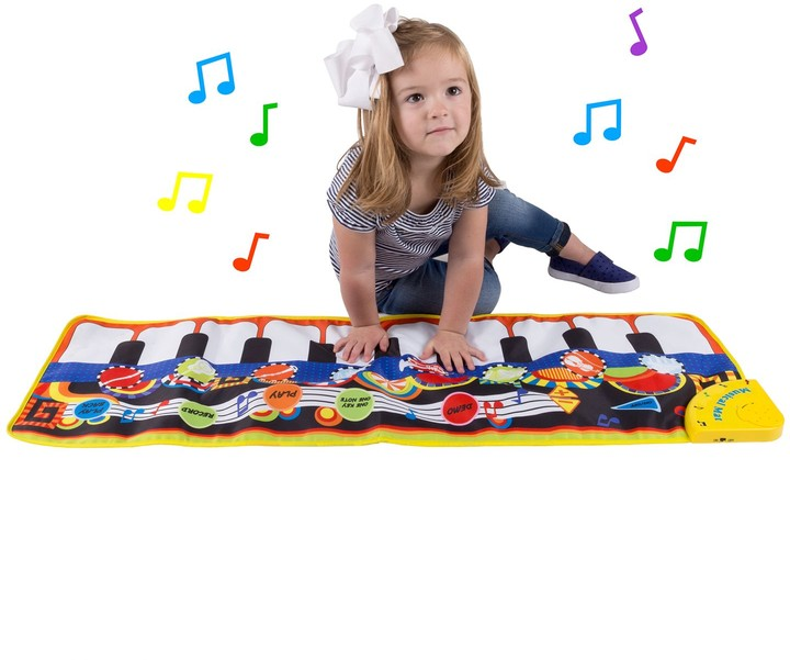 Hey Play Hey! Play! Kids Step Piano Mat