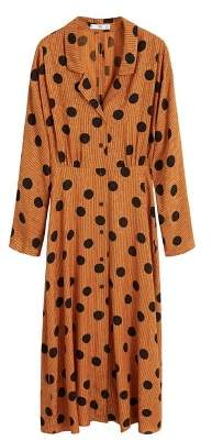 Polka-dot print dress
