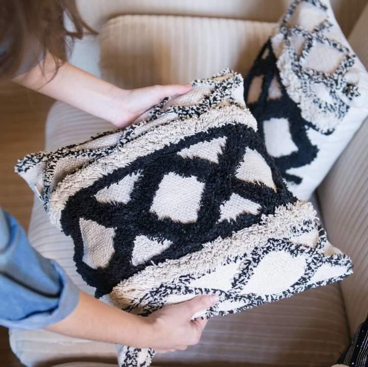 The Best Room Geometric Scandi Cushion Cover