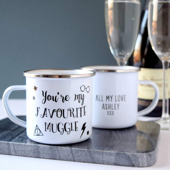 The Alphabet Gift Shop Personalised Favourite Muggle Mug