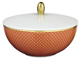 Raynaud Tresor Orange Sugar Bowl