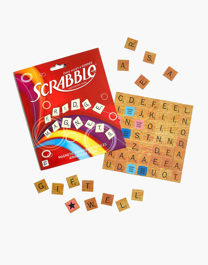 Madewell Wild & Wolf Scrabble Fridge Magnets