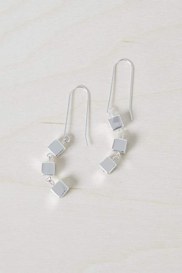 Geo Square Earrings