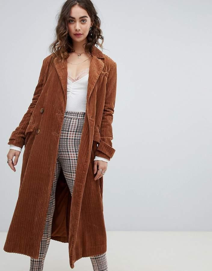 Free People Abbey Road duster coat