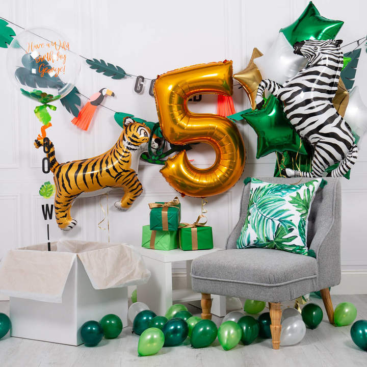 Bubblegum Balloons Inflated Go Wild Party Package