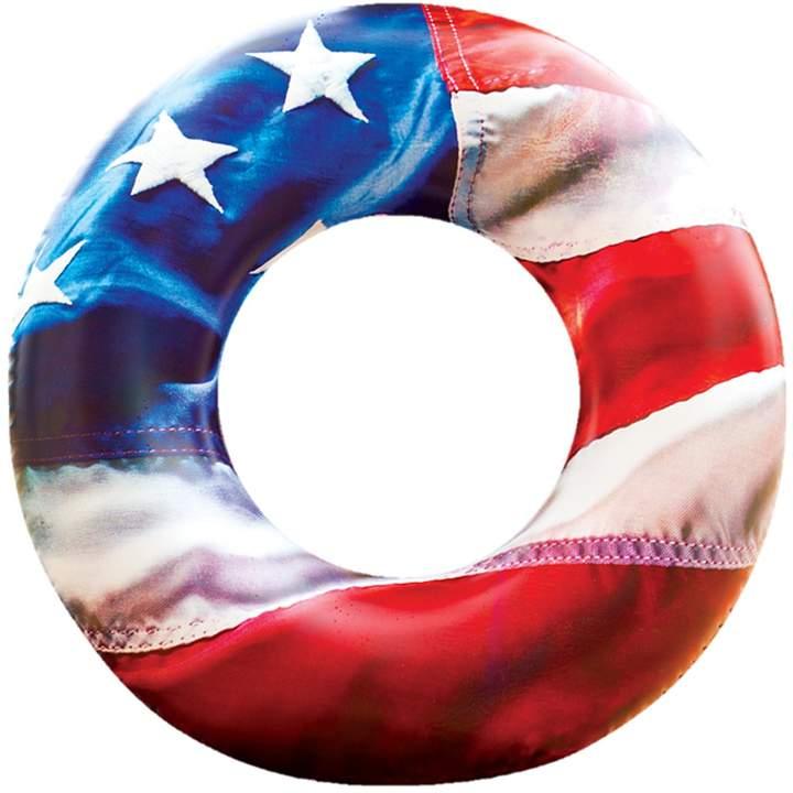 American Flag Pool Float