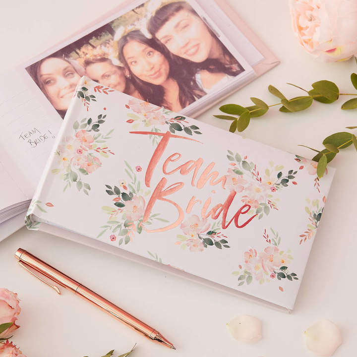 Ginger Ray Rose Gold Foiled Hen Party Photo Album