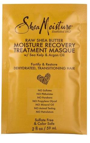 SheaMoisture Raw Shea Butter Moisture Recovery Treatment Masque - 2 fl oz