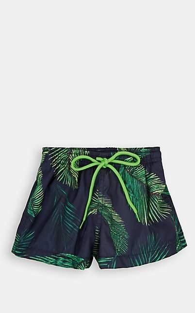 Little Peixoto Infants' Palm-Leaf Swim Trunks - Blue