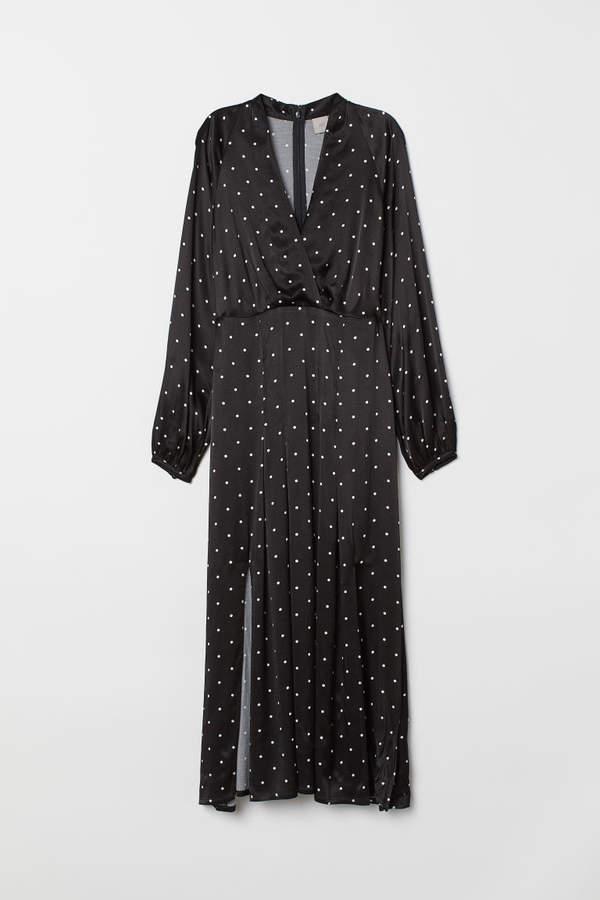 H&M - Calf-length Dress - Black