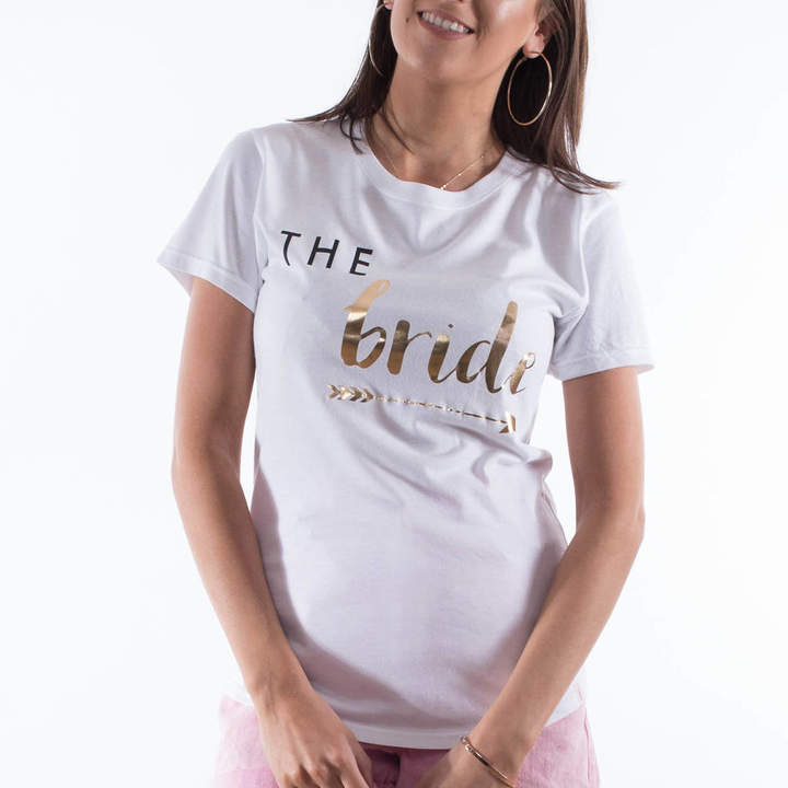 Rock On Ruby 'The Bride' Bride Tribe Hen Party T Shirt