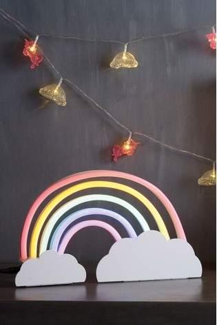 Next Rainbow Neon Effect Feature Light