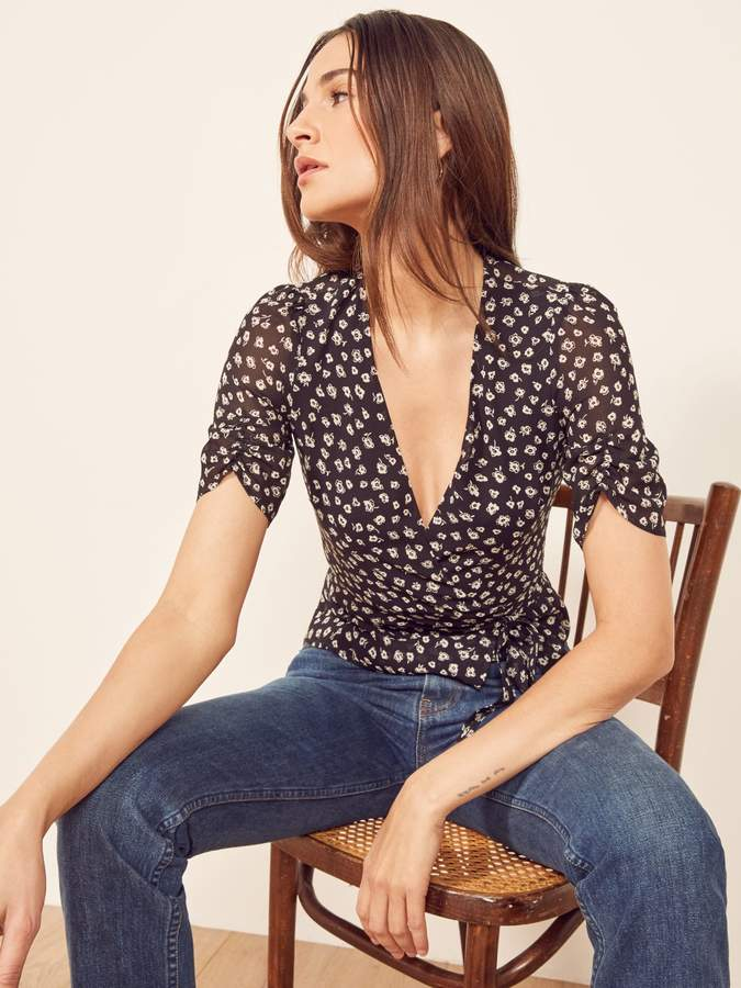 Reformation Charlotte Top