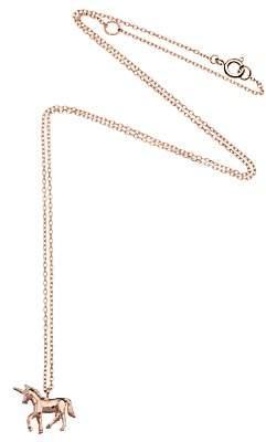Estella Bartlett Unicorn Pendant Necklace