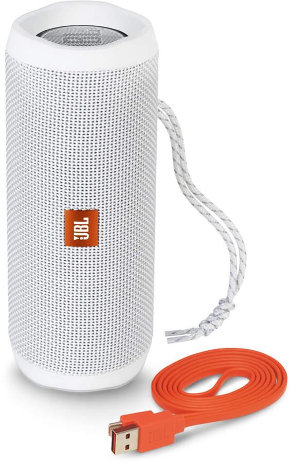 Jbl White Flip 4 Portable Wireless Stereo Speaker