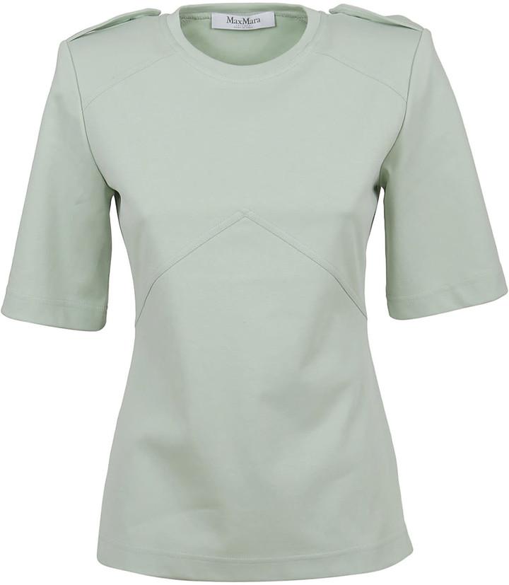 Max Mara Green Cotton T-shirt