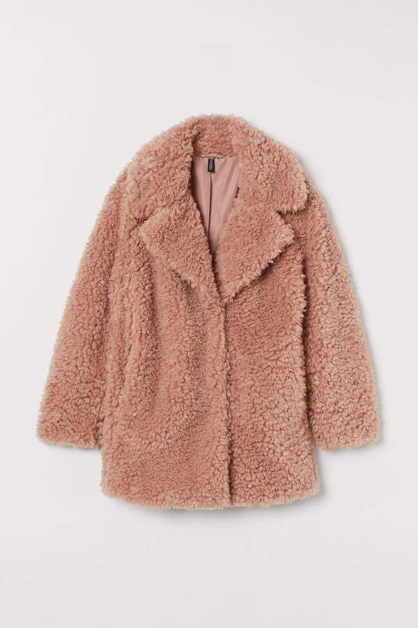 H&M Short pile coat