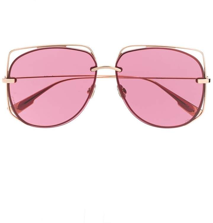 DiorStellaire6 oversized-frame sunglasses
