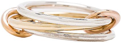 Spinelli Kilcollin Solarium MX Ring in 18K Yellow Gold | FWRD