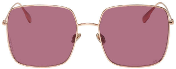 Dior Rose Gold and Purple DiorStellaire1 Sunglasses