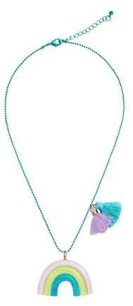 Rainbow pendant necklace