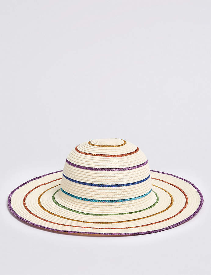 Marks and Spencer Kids Rainbow Hat (3-14 Years)