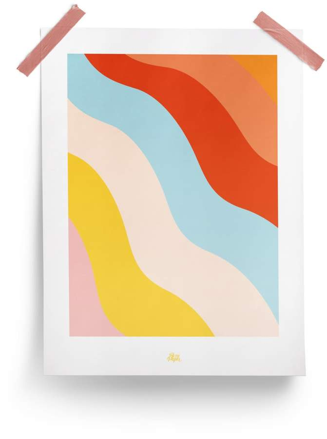 """Be My Paper Poster """"Rainbow"""""""