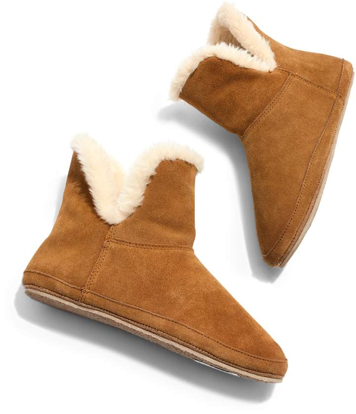 Madewell The Suede Slipper Bootie