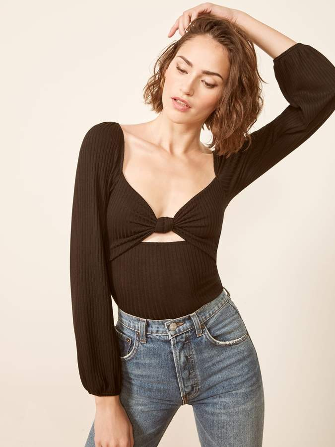 Reformation Rosalind Top