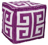 Alfred Greek Key Ottoman Dakota Fields Color: Lilac