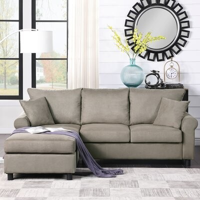 breashia 85 1 wide left hand facing sofa chaise